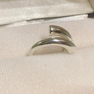 【残り1点】シルバー925 幾何学 リング 指輪