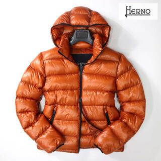 ヘルノ(HERNO)の⭐︎ ヘルノ HERNO 16万最高級オレンジダウンジャケット(ダウンジャケット)