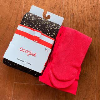 ベビーギャップ(babyGAP)の新品 2-3y  キャットアンドジャック タイツ 2色セット(靴下/タイツ)