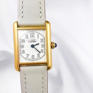 Cartier - 【仕上済】カルティエ タンク アラビア ゴールド レディース 時計