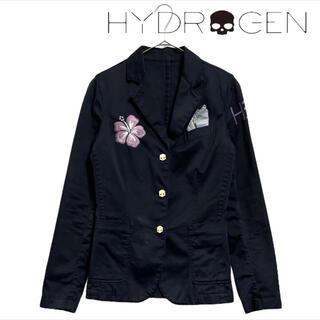 ハイドロゲン(HYDROGEN)のセット✨ ハイドロゲン ジャケット&スカーフ ボタニカル(テーラードジャケット)
