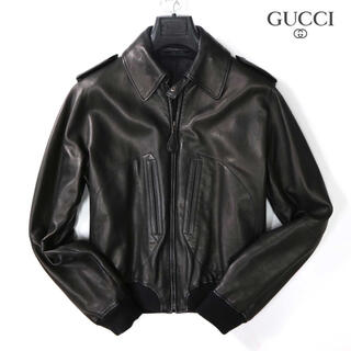 Gucci - ⭐︎ グッチ gucci 55万最高級トムフォード期ナッパレザージャケット