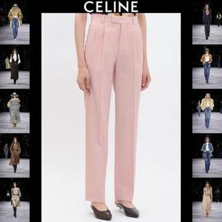celine - CELINEセンタープレスパンツ