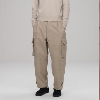 COMOLI - COMOLI / Wool Linen 6Pocket Pants