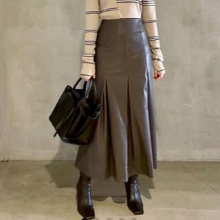 Mila Owen - ミラオーウェン レザー スカート