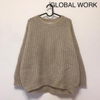 グローバルワーク(GLOBAL WORK)のGLOBAL WORK グローバルワーク ニット セーター(ニット/セーター)