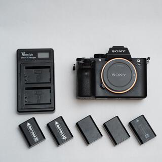 SONY - a7rii バッテリー5個付き