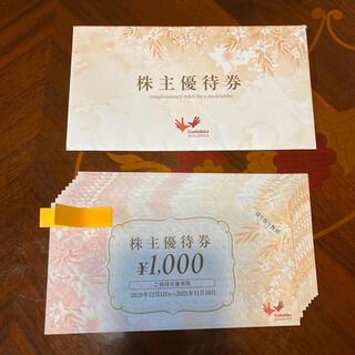 コシダカ まねきねこ 株主優待10000円分
