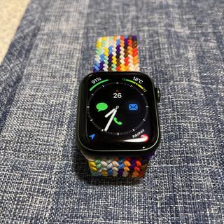 アップルウォッチ(Apple Watch)のApplewatch series7 45mm グリーン(その他)