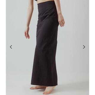 EDIT.FOR LULU - yo biotop sheer tight skirt
