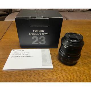 富士フイルム - FUJI FILM フジノンレンズ  XF23mm F2 R WR B ブラック
