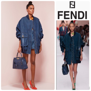 FENDI - ❤︎お値下げ可 【極美品】FENDI  デニムジャケット 2019ss