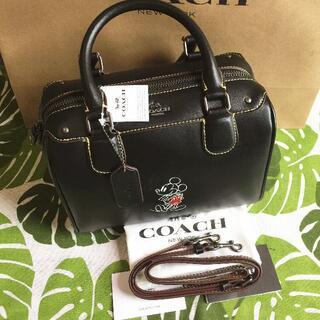 COACH - コーチ/COACH ショルダーバッグ F59371 ブラック コーチ×ディズニ