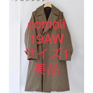 COMOLI - 美品!comoli 19aw タイロッケンコートサイズ1 コモリ