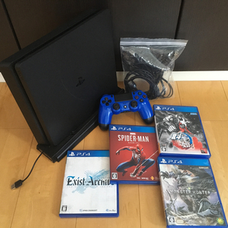 PlayStation4 - 明日朝一発送可。PlayStation4 プレステ4 ソフト セット