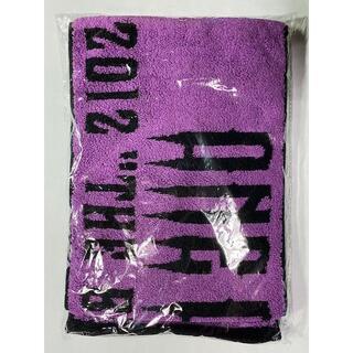 ワンオクロック(ONE OK ROCK)のワンオクロック ONE OK ROCK ライブタオル グッズ 2012(ミュージシャン)