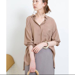 IENA - エアドレープシャツ