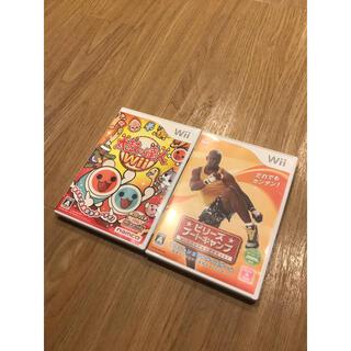 ウィー(Wii)のWii ビリーズブートキャンプ 太鼓の達人(家庭用ゲームソフト)