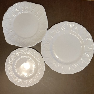 ウェッジウッド(WEDGWOOD)の【Wedgewood】COUNTRYWAREシリーズ 皿3枚(食器)