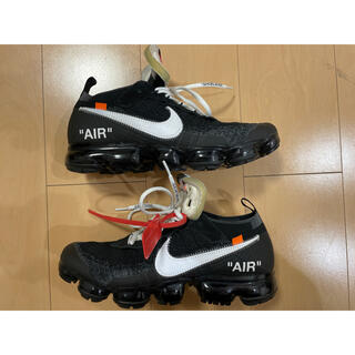 OFF-WHITE - 鑑定済み vapormax offwhite ヴェイパーマックス オフホワイト
