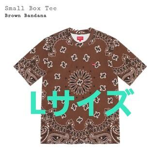 Supreme - Supreme☆Small Box Tee BandanaバンダナTシャツBox