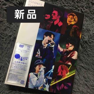 新品未開封 SixTONES 「on eST(初回盤) DVD」
