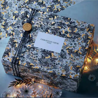 ディオール(Dior)のDIOR クリスチャンディオール ギフトボックス ディオール ギフト クリスマス(ラッピング/包装)