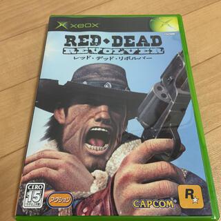 Xbox - レッド・デッド・リボルバー RED DEAD REVOLVER    XBOX