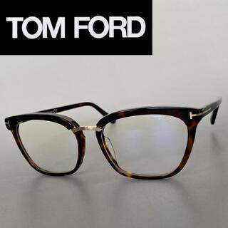 トムフォード(TOM FORD)のメガネ トムフォード キャットアイ べっ甲 ゴールド メタル 鼈甲 ブラウン(サングラス/メガネ)