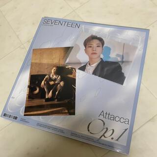 SEVENTEEN - 特別価格SEVENTEEN attacca ユニバ生写真 ポストカード ホシ