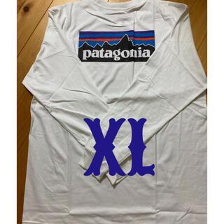 パタゴニア(patagonia)の新品 patagonia パタゴニア 長袖T  XL(Tシャツ/カットソー(七分/長袖))
