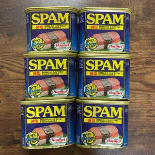 ②SPAM ホーメル スパム減塩6缶(缶詰/瓶詰)
