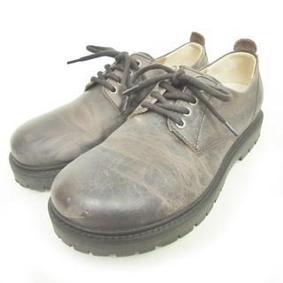 ビルケンシュトック(BIRKENSTOCK)のビルケンシュトック クレイヴァルドレスシューズ レザー 革靴 茶 40 26cm(ドレス/ビジネス)