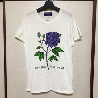 NEPENTHES - NEPENTHES 薔薇ロゴ Tシャツ