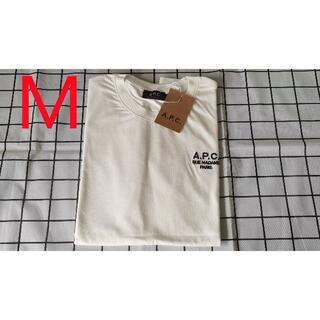 新品 A.P.C.  アーペーセーホワイト Tシャツ  M