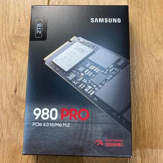 SAMSUNG - SAMSUNG SSD 980 PRO 2TB PC パーツ新品未開封 送料無料