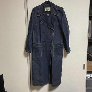 ジョンローレンスサリバン(JOHN LAWRENCE SULLIVAN)のVINTAGE denim-trench coat(トレンチコート)
