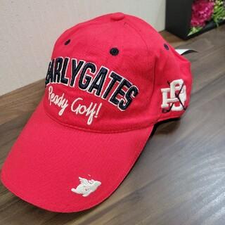 パーリーゲイツ(PEARLY GATES)の新品 PEARLY GATES パーリーゲイツ ゴルフ 帽子 キャップ 刺繍(ウエア)