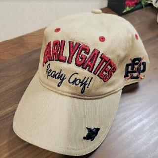 パーリーゲイツ(PEARLY GATES)の新品 PEARLY GATES パーリーゲイツ ゴルフ 帽子 キャップ 刺繍(その他)