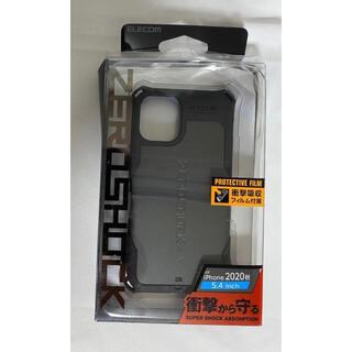 ELECOM - iPhone 12 mini ゼロショックケース 5.4