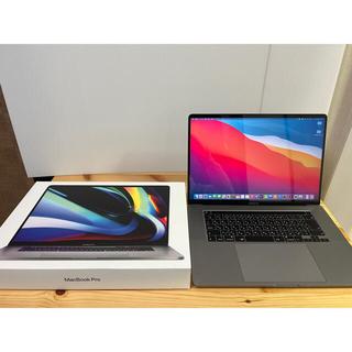 Mac (Apple) - 超美品 アップルケア加入 16インチ MacBook Pro MVVJ2J/A