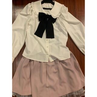 アンクルージュ(Ank Rouge)のAnk Rouge トップス&スカート(シャツ/ブラウス(長袖/七分))