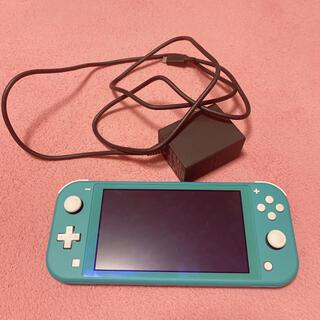 Nintendo Switch - 任天堂Switch light ターコイズ 箱なし