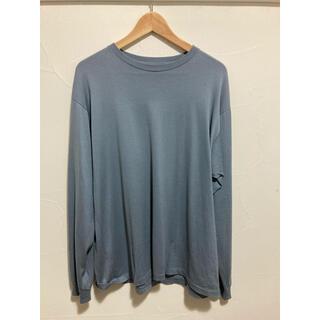 コモリ(COMOLI)の20AW auralee LUSTER PLAITING L/S TEE  4(Tシャツ/カットソー(七分/長袖))