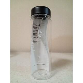 新品☆enherb オリジナルクリアボトル タンブラー (ハーブ柄)500ml(タンブラー)