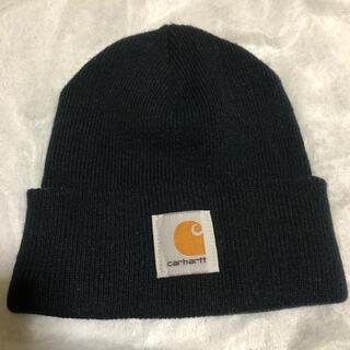 カーハート(carhartt)のcarhartt カーハート ニット帽 ブラック 黒(ニット帽/ビーニー)