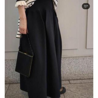 machatt  ホールガーメントフォルムスカート ブラック