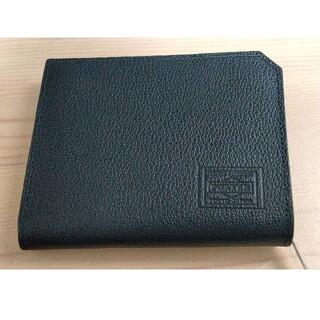 ポーター(PORTER)のPORTER 2つ折り財布 ブラック(折り財布)