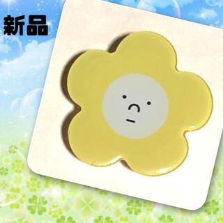 【新品】ポップソケット スマホグリップ 花 はな はな フラワー イエロー 黄色(その他)