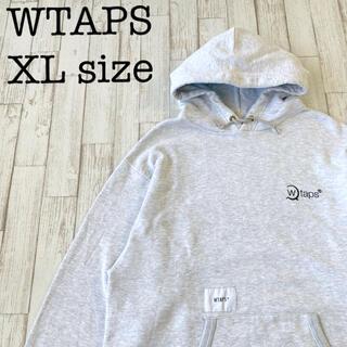 W)taps - WTAPS ダブルタップス スウェットパーカー 刺繍ロゴフーディ 古着